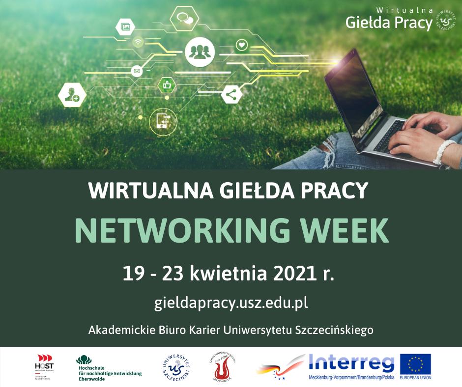 Wirtualna Giełda Pracy Networking Week 19-23.04.2021 r.